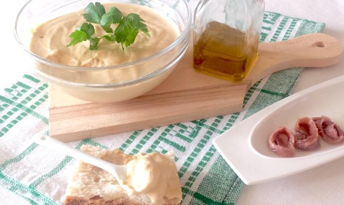 Piatto verde in salsa tonnata  microonde