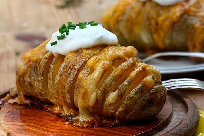 Patate gratinate al forno con parmigiano reggiano