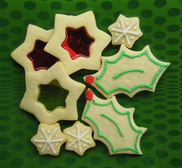 Ricetta biscotti vetrata