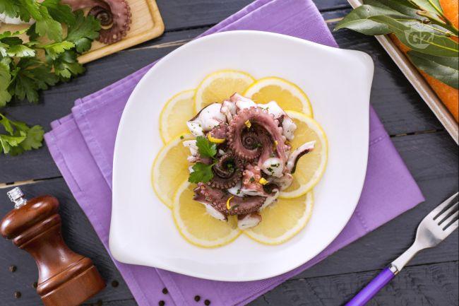 Ricetta insalata di polpo prezzemolata