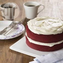 Red velvet cake americana