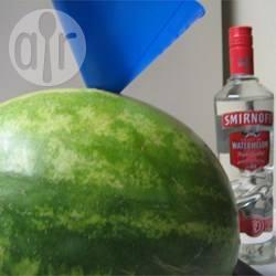 Anguria al rum