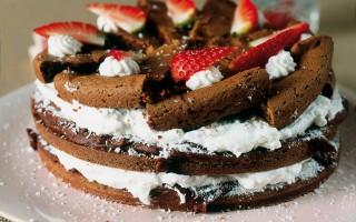 Ricetta torta di cioccolato, cocco e panna