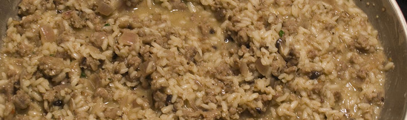 Ricetta risotto ai fegatini di pollo