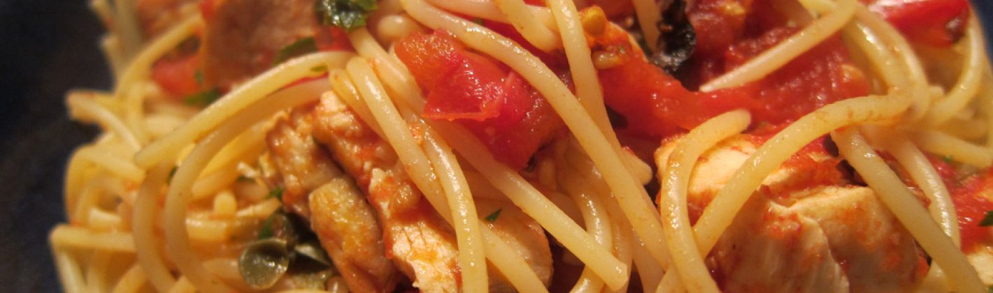 Ricetta spaghetti con il sugo di pesce