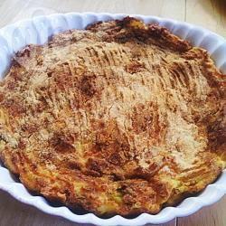 Torta di patate ripiena