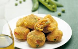 Ricetta frittelle di patate con verdure miste
