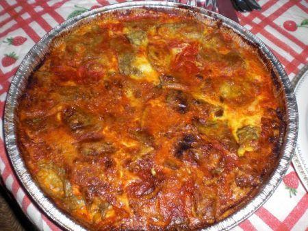 Ricetta parmigiana di carciofi