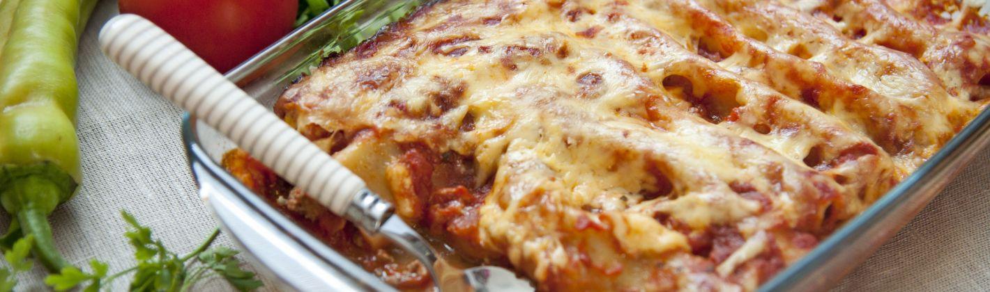 Ricetta cannelloni con carciofi, salmone e gamberi