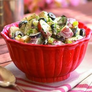 Ricetta insalata di tacchino e olive