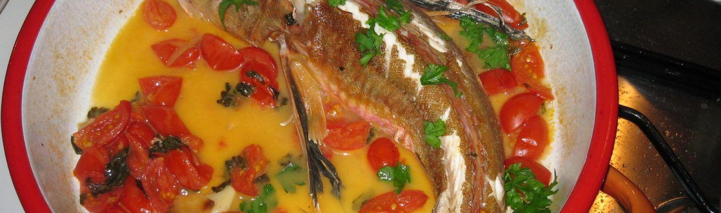 Ricetta pesce all'acqua pazza light