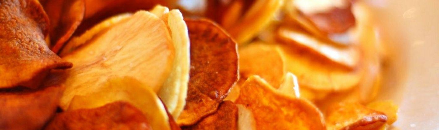 Ricetta chips di sedano rapa