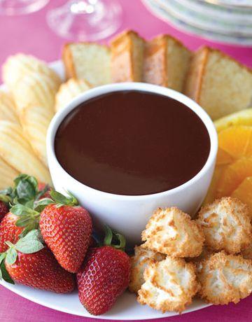 Ricetta fonduta fredda al cioccolato