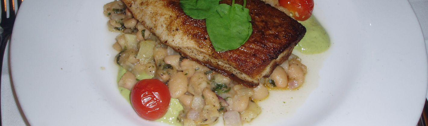 Ricetta pesce spada con cannellini