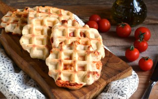 Ricetta pizza waffle
