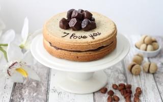 Ricetta torta bacio di dama