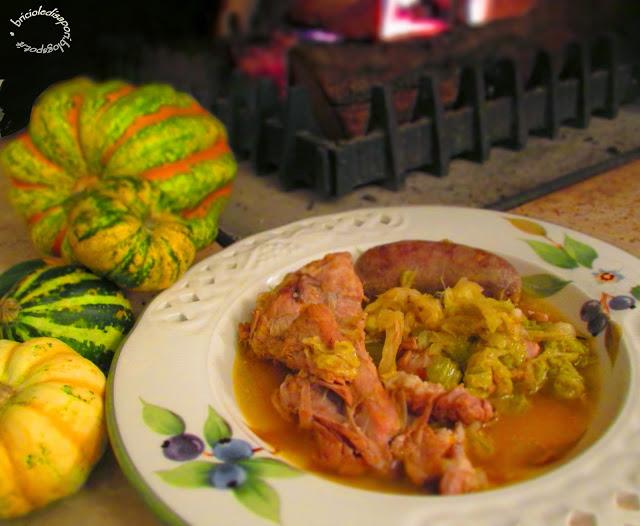 Cassoeula ricetta for Cocinar lombarda