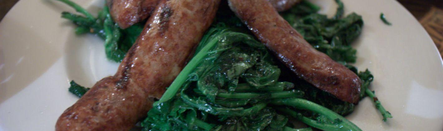Ricetta broccoli e salsicce