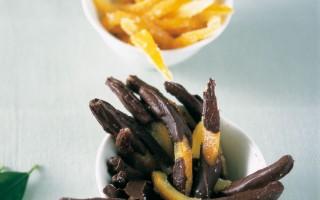 Ricetta scorzette d'arancia candite al cioccolato