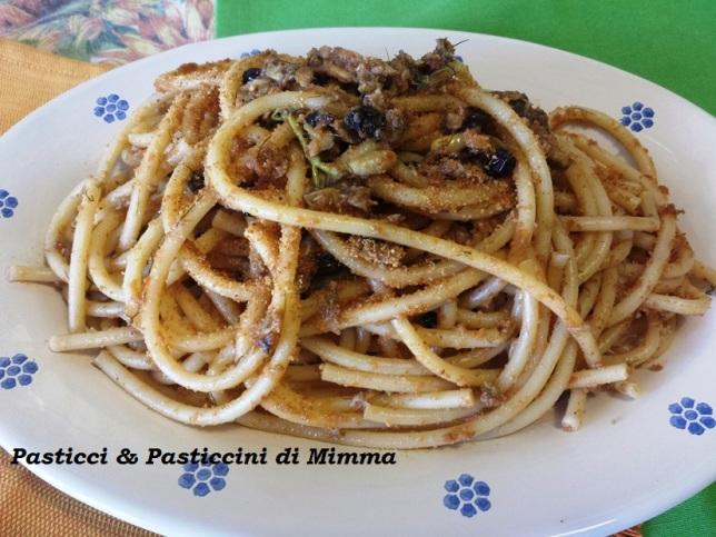 Pasta con le sarde alla castelbonese