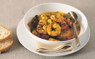 Ricetta zuppa di gamberi
