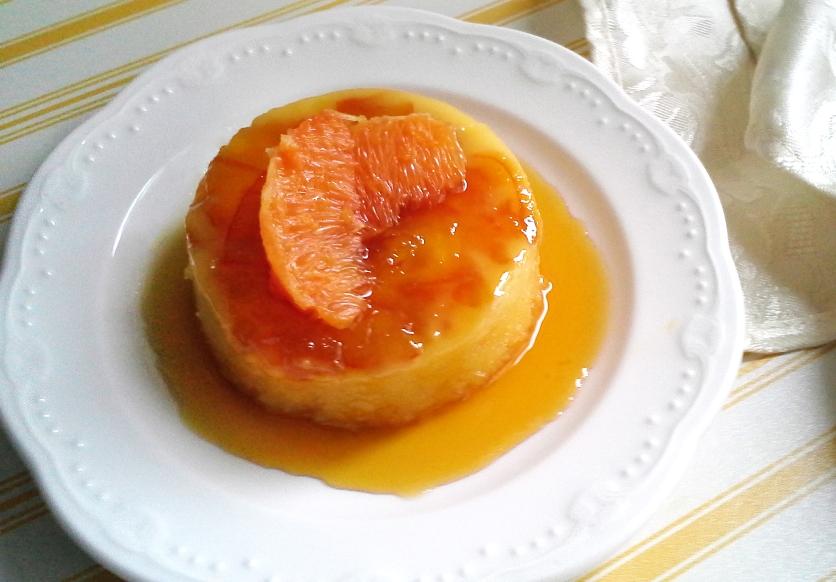 Budino all'arancia