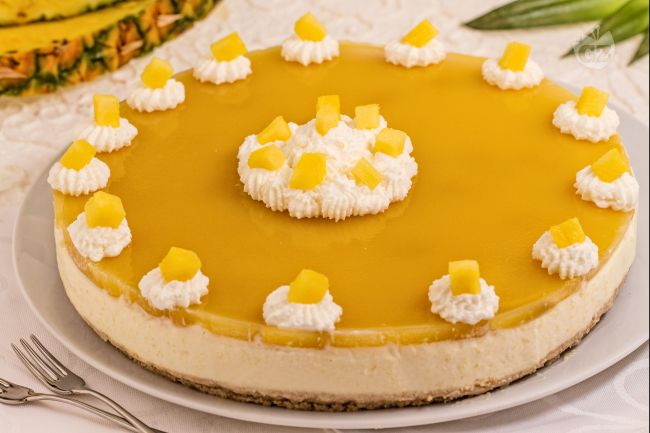 Ricetta cheesecake tropicale