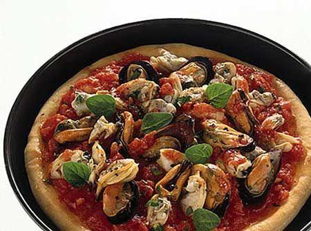 Ricetta pizza ai frutti di mare