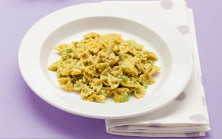 Ricetta farfalline con carota e zucca al pesto di zucchine e spinaci ...