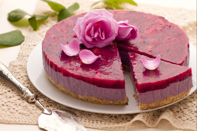 Ricetta cheesecake al profumo di rose