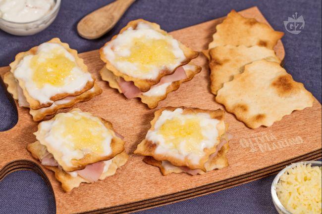 Ricetta croque monsieur finger food con sfoglia classica