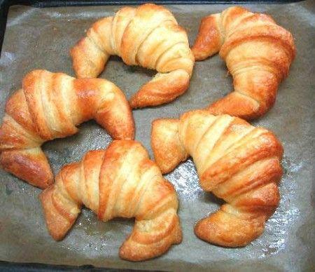 Ricetta croissants al salmone affumicato