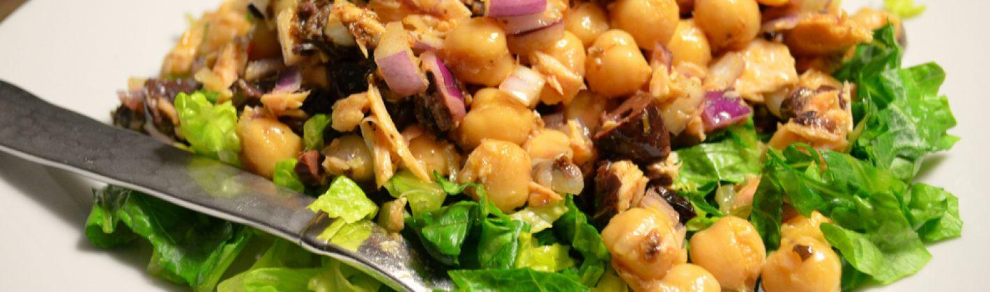 Ricetta insalata di ceci e tonno