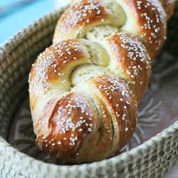 Pan brioche di pasqua