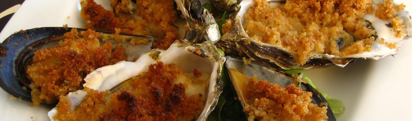 Ricetta ostriche gratinate