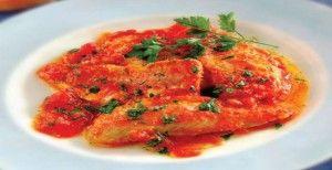 Ricetta cefalo (muggine) con olive e uvetta
