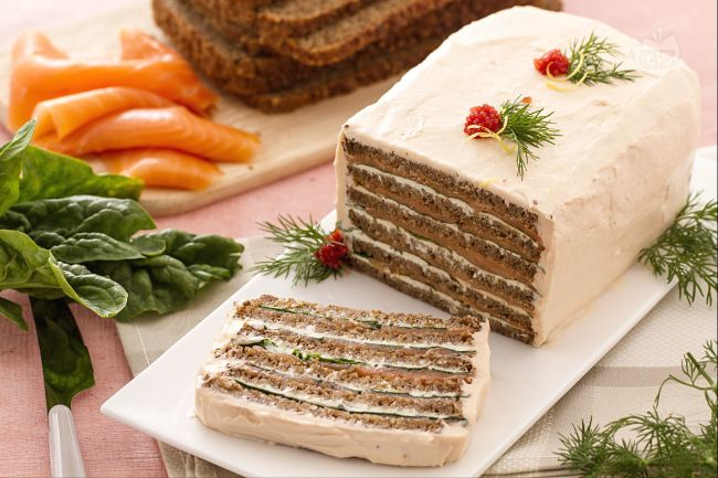Ricetta torta di salmone