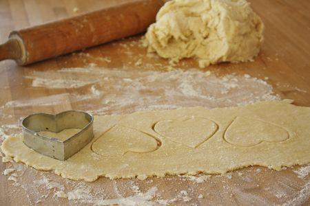 Ricetta biscotti a cuore ripieni