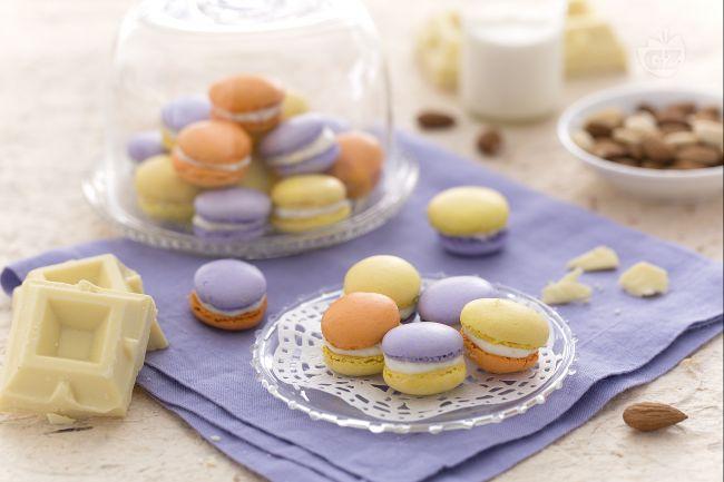Ricetta macarons multicolor