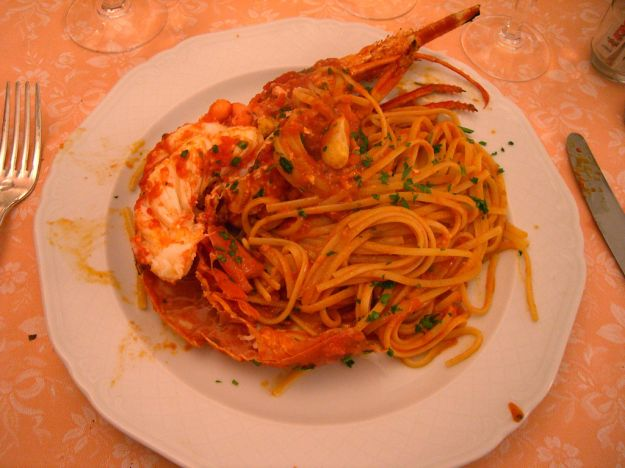Ricetta linguine all'astice
