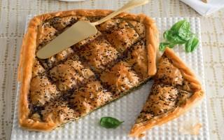 Ricetta torta greca con spinaci e feta
