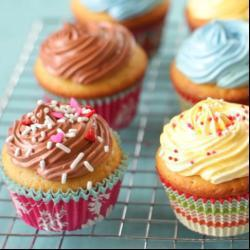 Cupcake alla vaniglia e cioccolato