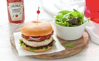 Ricetta hamburger di pollo speziato