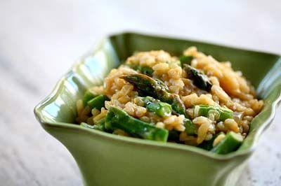 Ricetta insalata di orzo, asparagi e gamberetti
