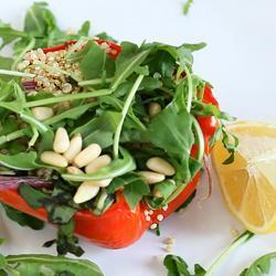 Insalata di quinoa e verdure al forno