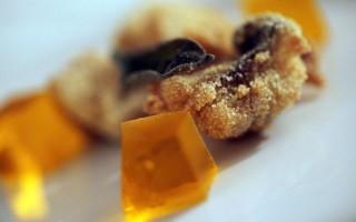 Ricetta gallinella fritta con gelatina al crodino