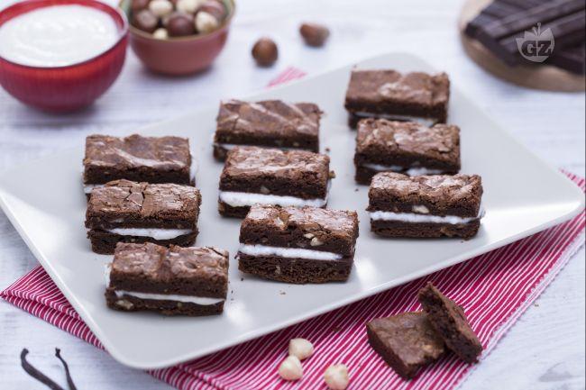 Ricetta sandwich di brownies al cioccolato