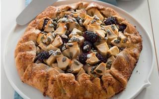 Ricetta tarte di farina d'avena con mele, more e semi di zucca ...
