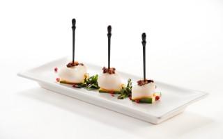 Ricetta finger food di filetto di halibut
