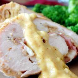 Involtini di pollo al forno con prosciutto e formaggio